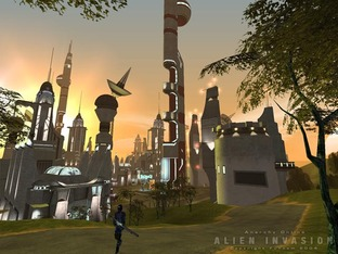 Test Anarchy Online : Alien Invasion PC - Screenshot 2