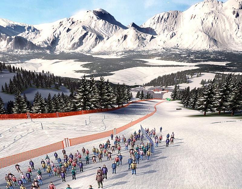 Alpine Ski Racing 2007