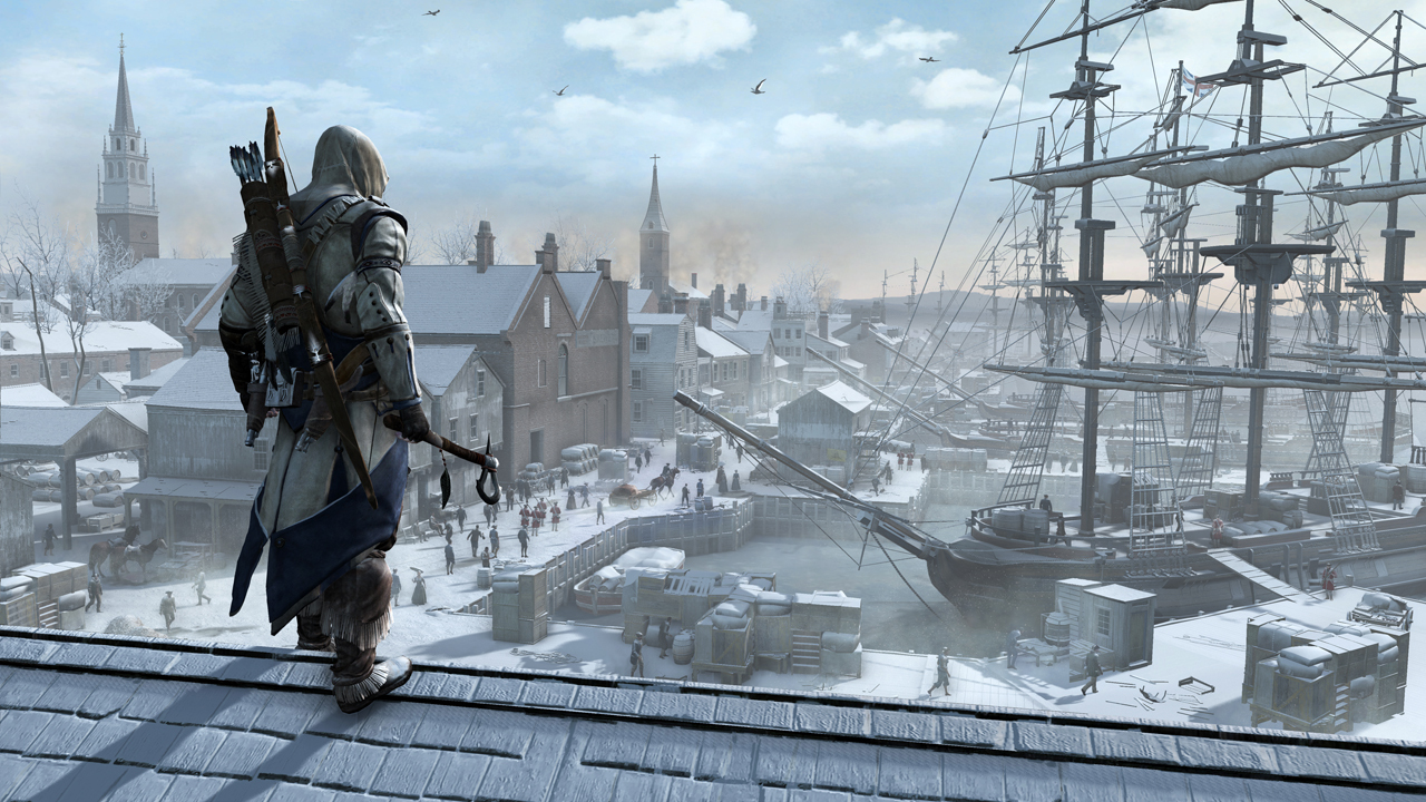 Assassins Creed 3 SKIDROW + DLC PACK