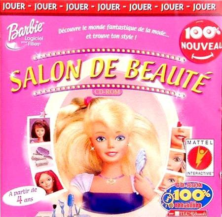 Barbie salon de beaut sur pc for Pc de salon