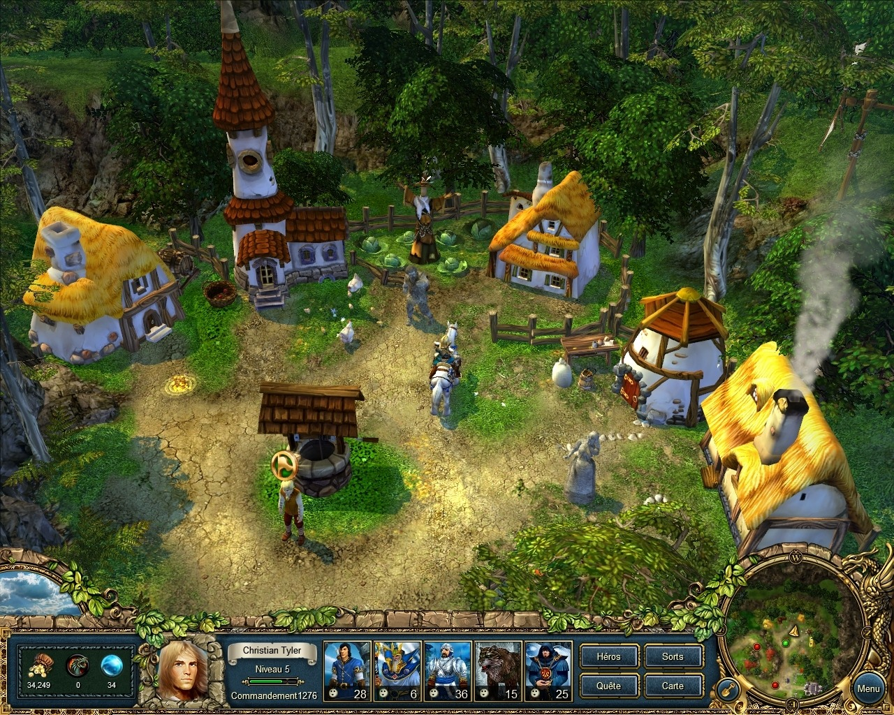 King's Bounty: Легенда о рыцаре. pic Дата выхода: 23 сентября 2008. .