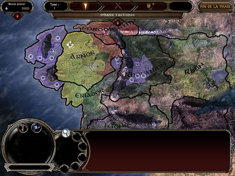 map seigneur des anneaux lavenement du roi sorcier