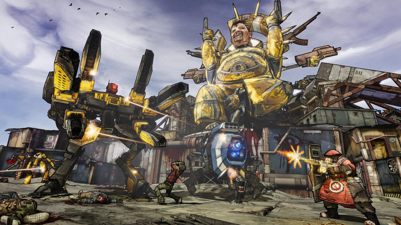 Borderlands 2 Update 4 incl DLC SKIDROW