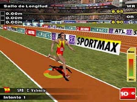Carl Lewis Athletics 2000