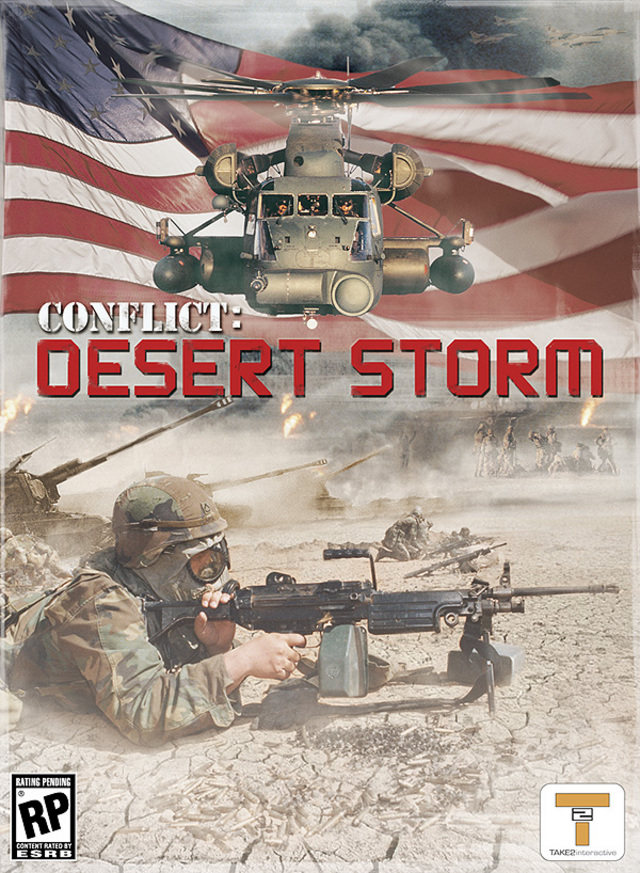 Conflict Desert Storm   [French - PC] [FS]