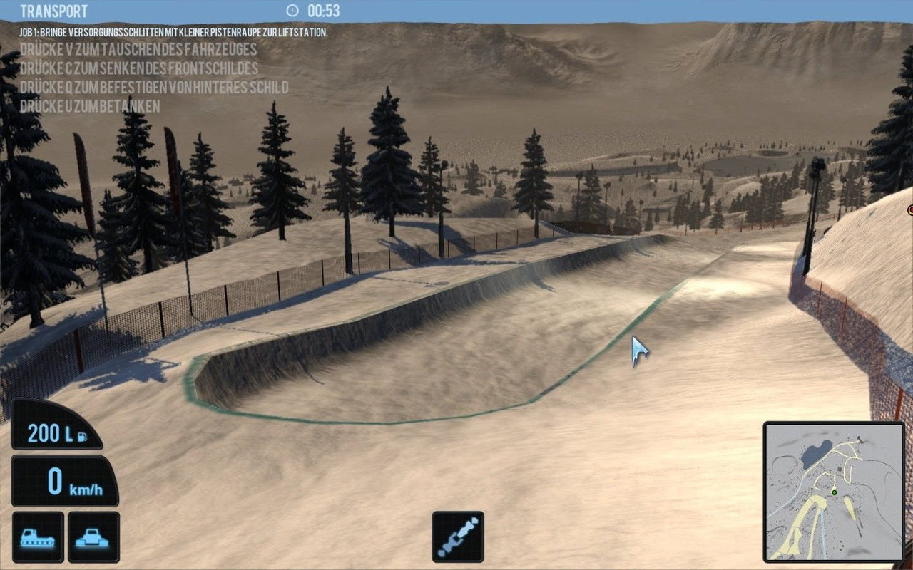 Chasse-Neige Simulator 2011