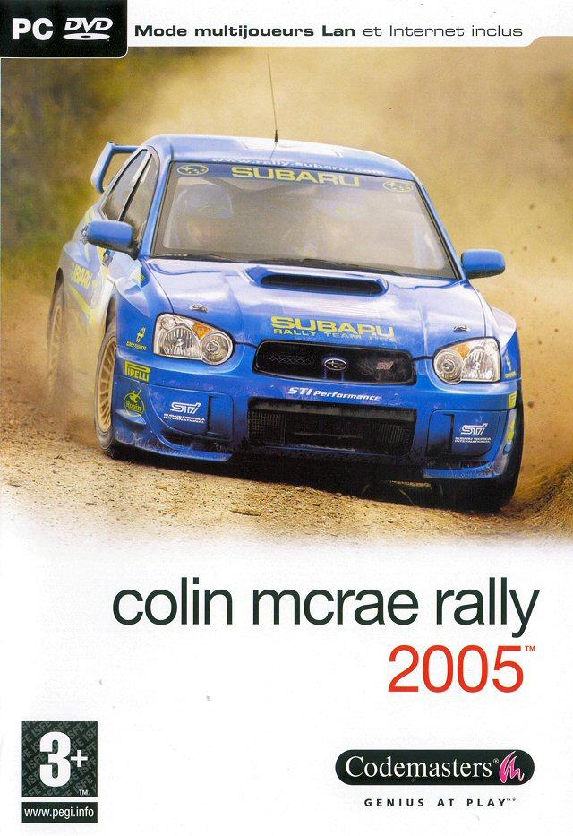 colin mcrae rally 2005 sur pc. Black Bedroom Furniture Sets. Home Design Ideas