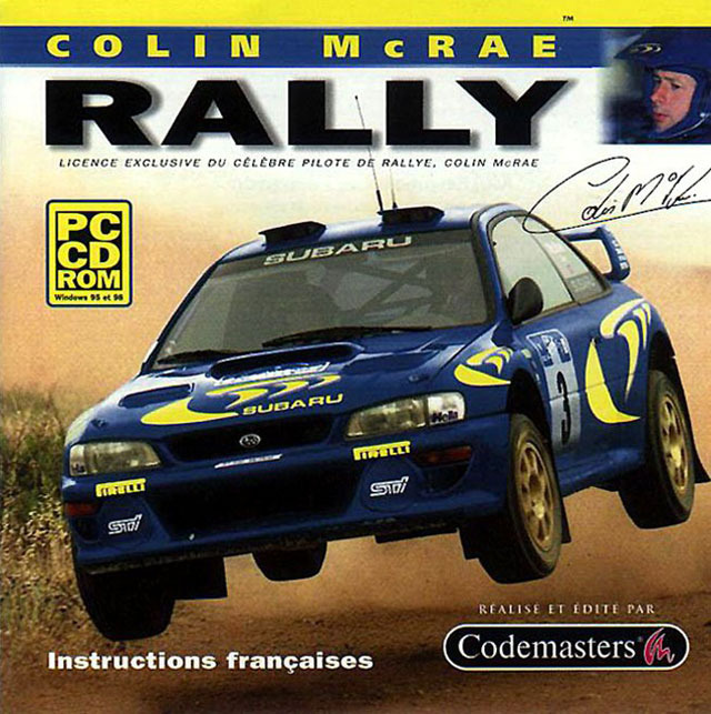 colin mcrae rally sur pc. Black Bedroom Furniture Sets. Home Design Ideas