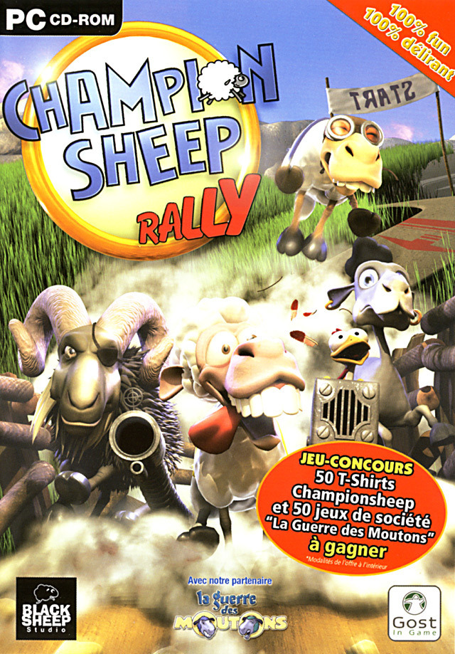 champion sheep rally sur pc. Black Bedroom Furniture Sets. Home Design Ideas