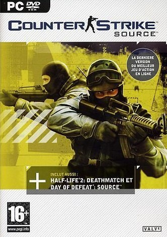Counter Strike Source + Day Of Defeat + Deathmatch