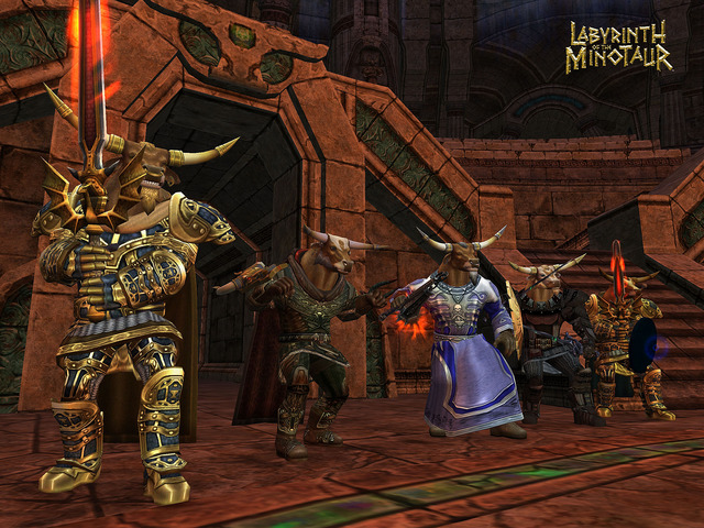 Dark Age of Camelot : Labyrinth of the Minotaur