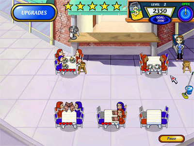 Diner Dash 2 : Restaurant Rescue