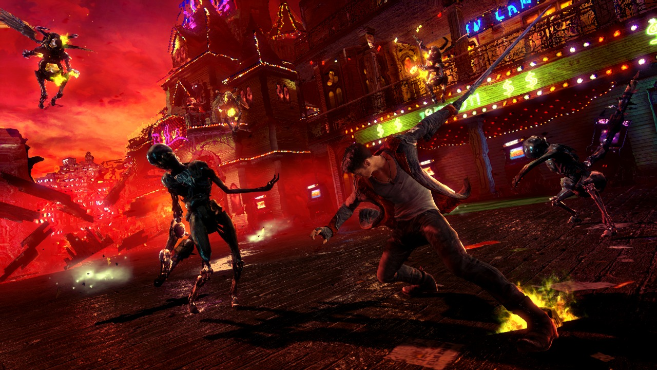 DmC Devil may Cry RELOADED + DLC