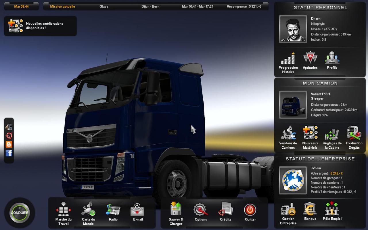 Euro truck simulator 2 actualización