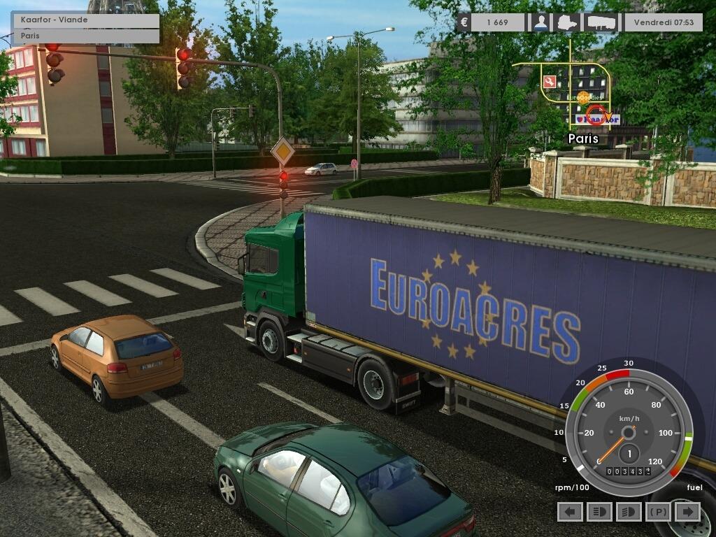 Euro Truck Simulator + Editeur de musique [PC | FRENCH] [FS]