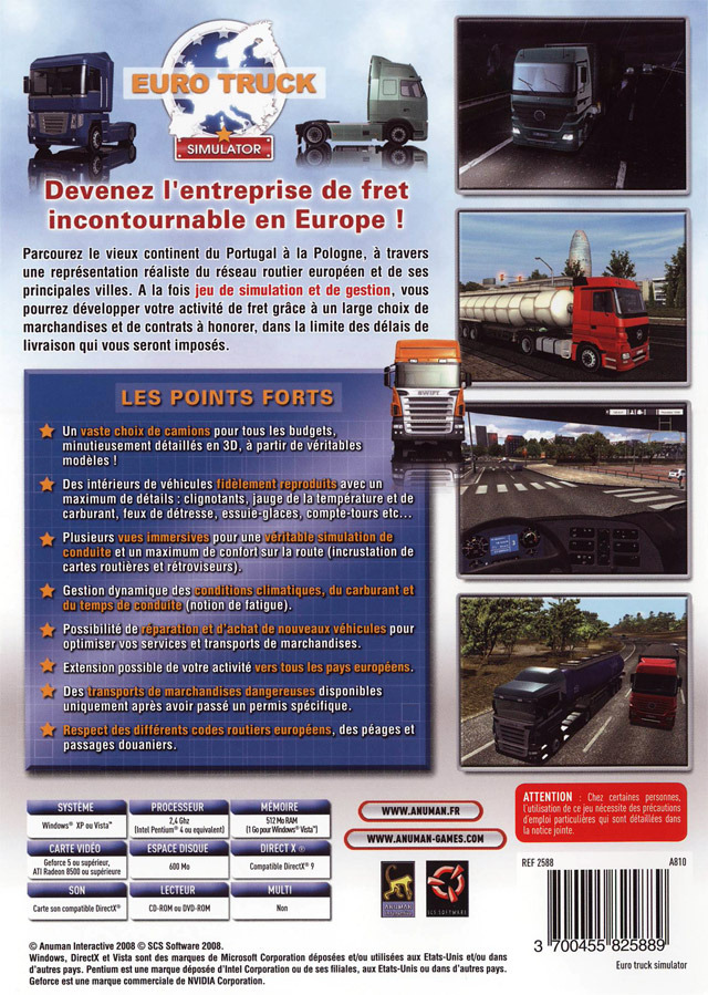 Download <b>Euro</b> <b>Truck</b> <b>Simulator</b> 2 for <b>PC</b> Terbaru Full <b>Version</b>