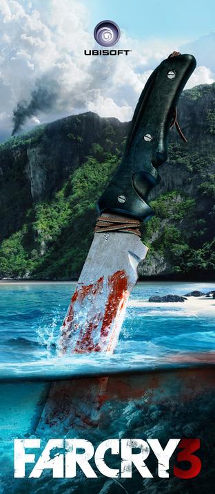 Far Cry 3 برابط تورنت torrent  كراك crack only