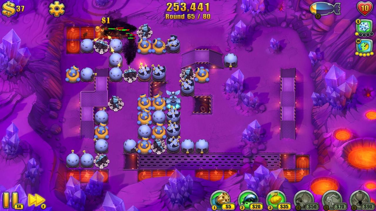 Screens Zimmer 2 angezeig: fieldrunners 2 for pc