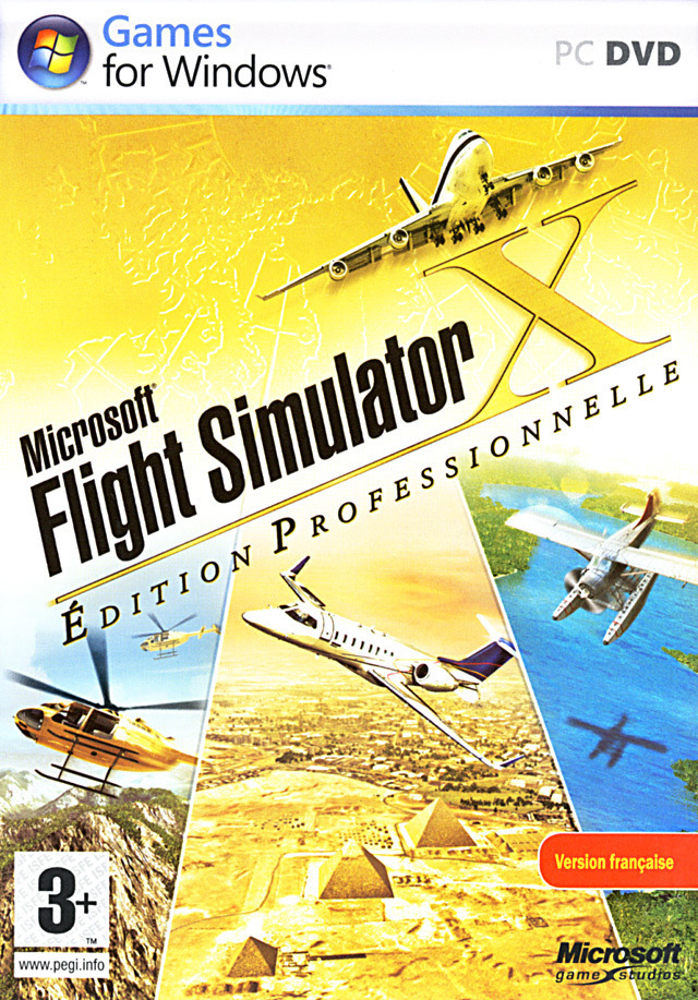 Microsoft Flight Simulator X - Edition Professionnelle