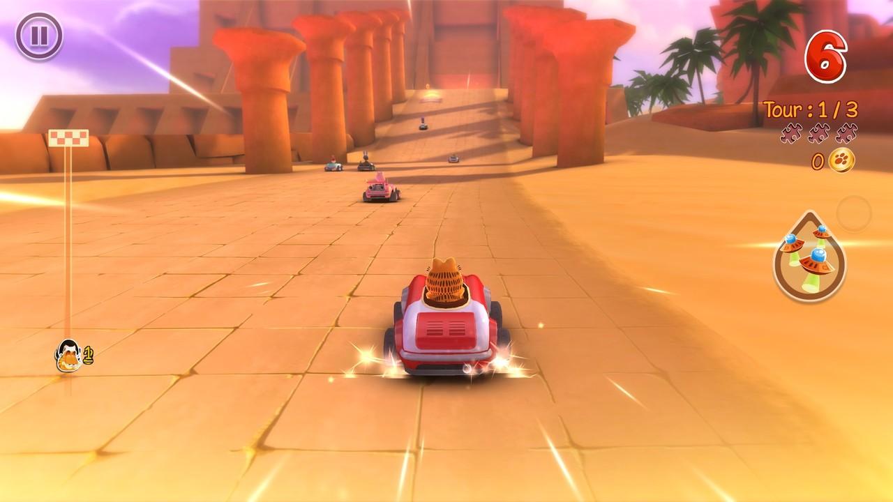 Garfield Kart Game Free Download