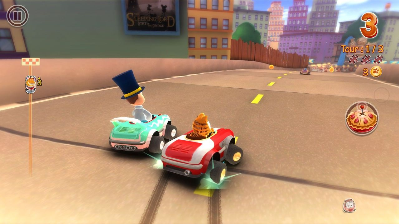 Garfield Kart Game Free Download