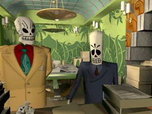 Test Grim Fandango PC - Screenshot 1
