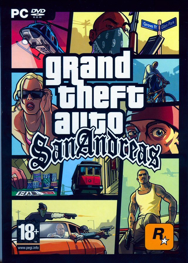 Grand Theft Auto San Andreas PC(1 Lien)