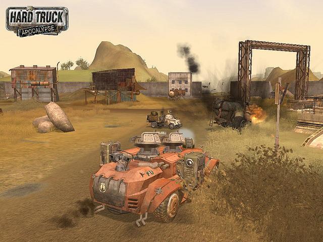 Скриншот из игры Hard Truck: Apocalypse под номером 2. Перейти к скриншоту