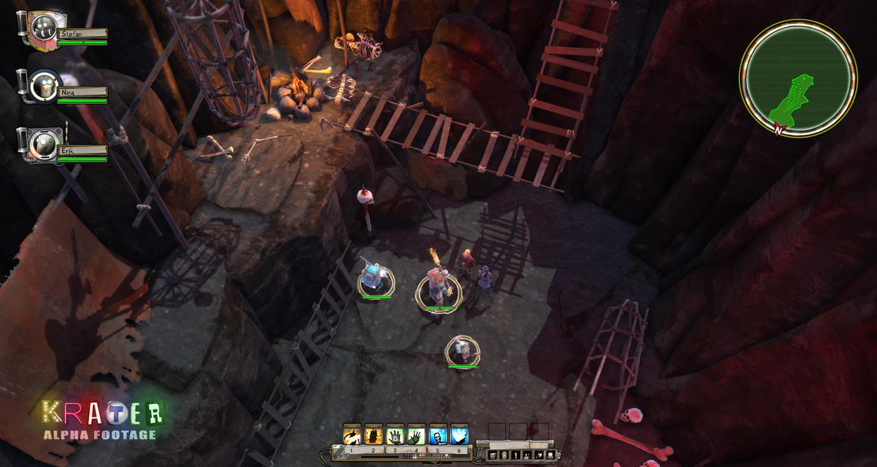 لعبة الأكشن الممتعة Krater 2012 نسخة كاملة بكراك SkidrOw بمساحة