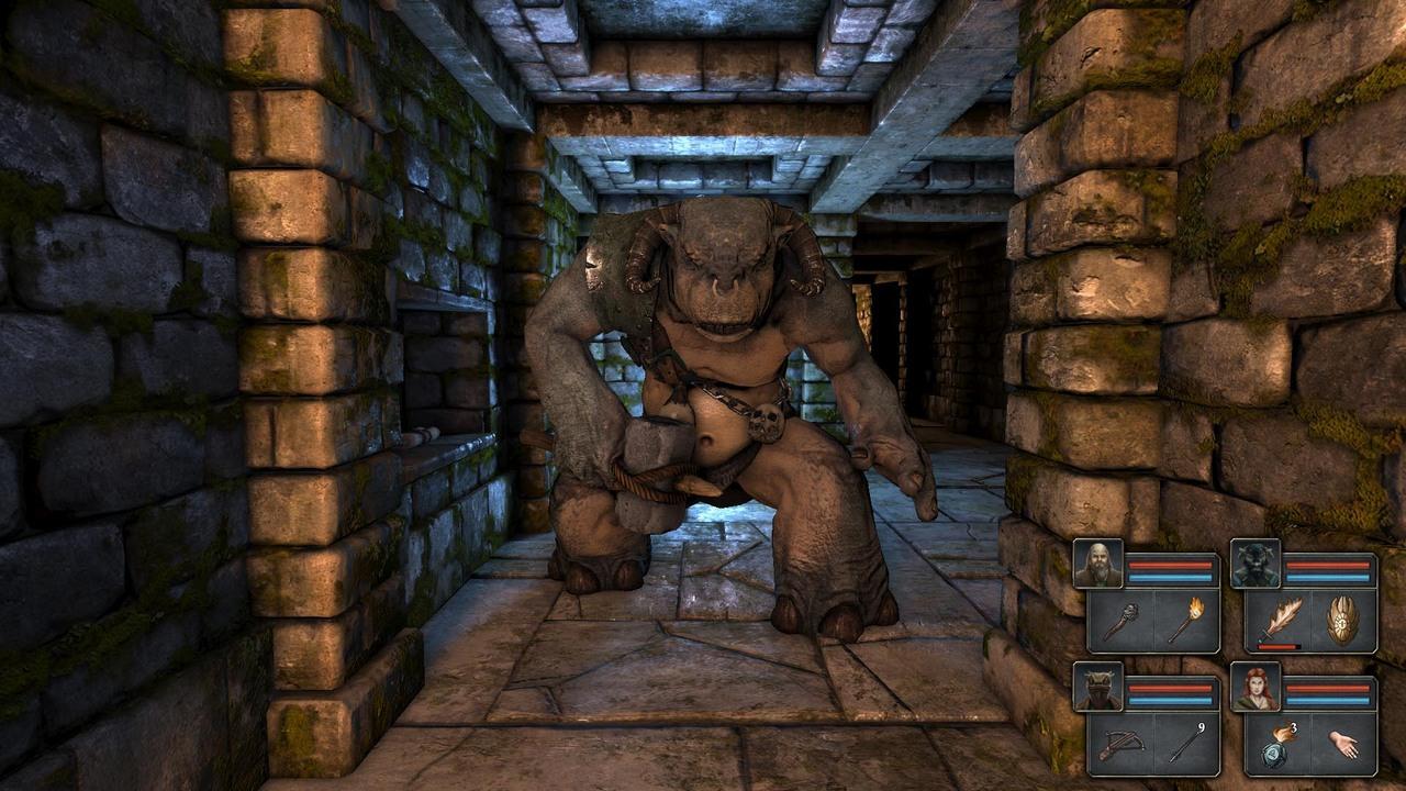 Legend of Grimrock débarque sur Linux via Steam. Legend-of-grimrock-pc-1332856297-013