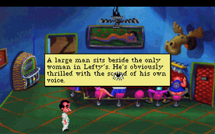 Leisure Suit Larry 1 : In the Land of the Lounge Lizards - PC