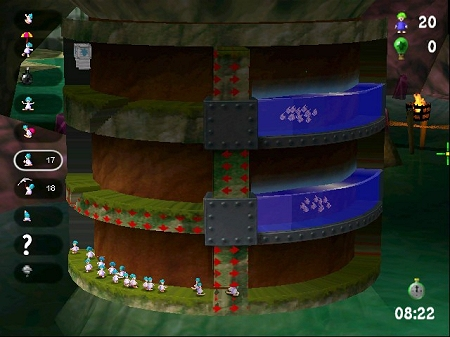 لعبة Lemmings Revolution