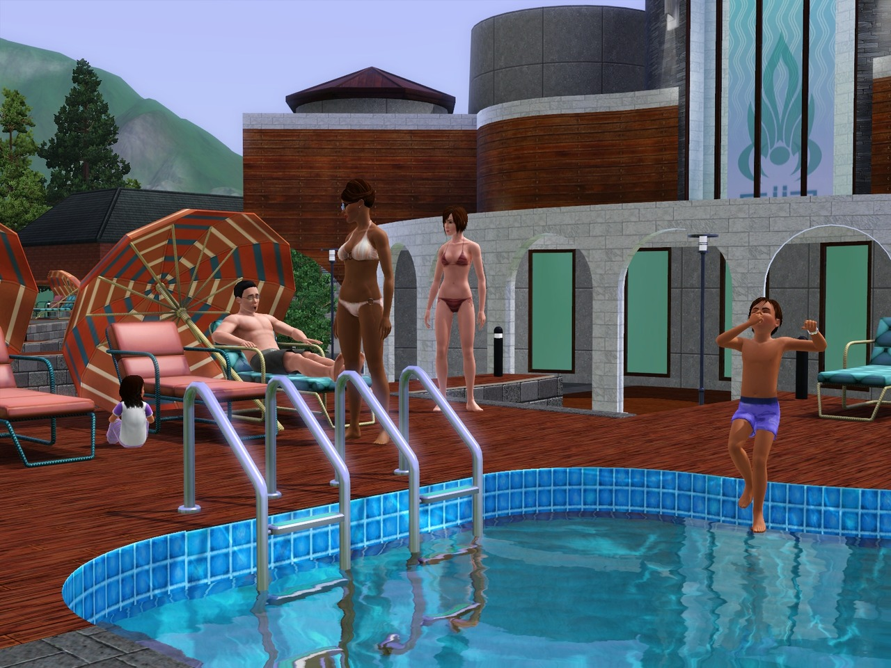 The Sims 3 Hidden Springs DLC FLT
