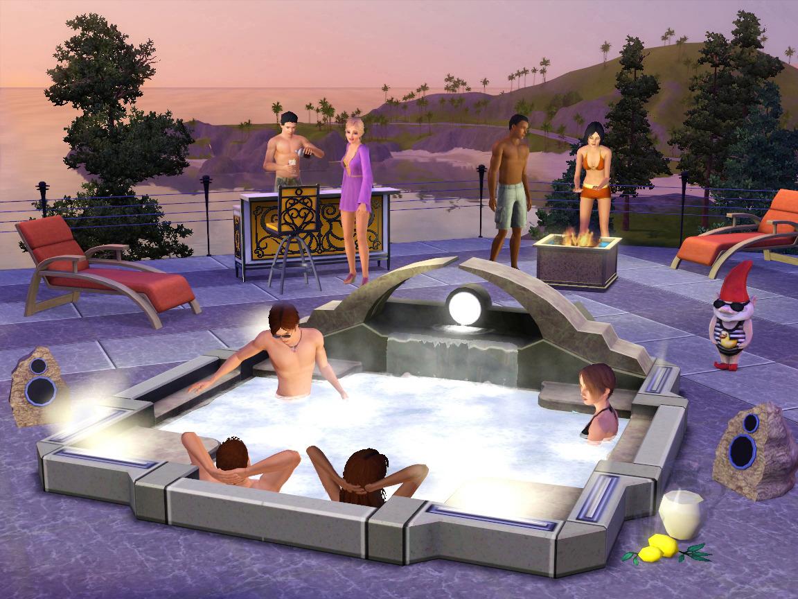 jeuxvideo.com Les Sims 3 : Jardin de Style Kit - PC Image 13 sur 14