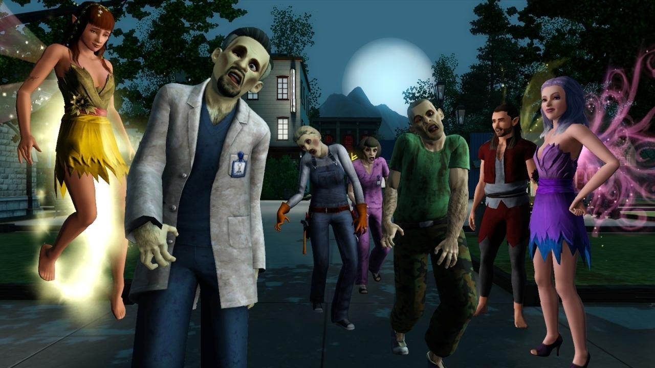jeuxvideo.com Les Sims 3 : Super-pouvoirs - PC Image 16 sur 164