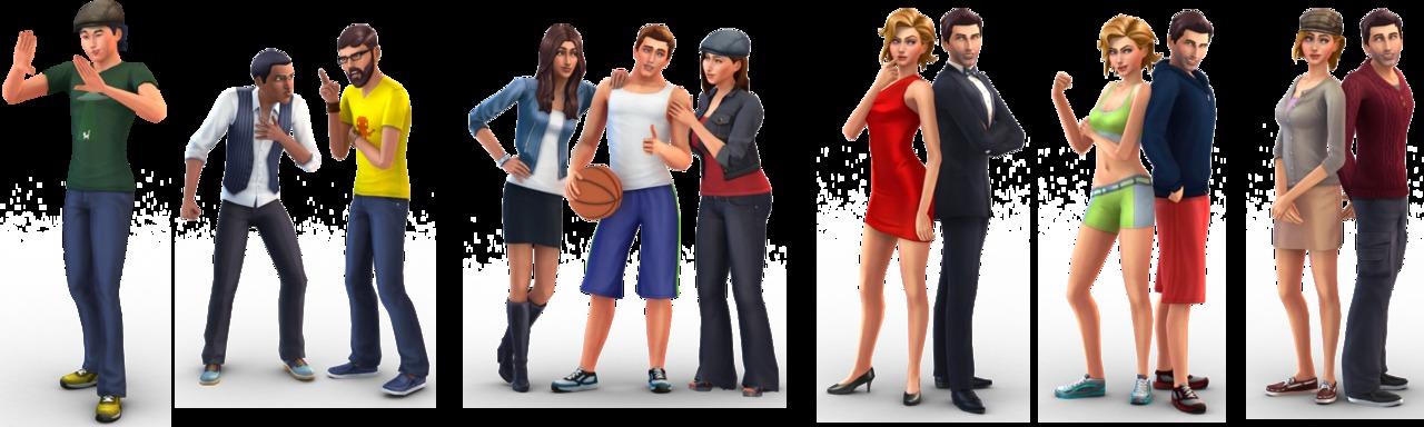 Sims 4 ����������� �������
