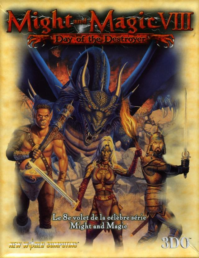 might and magic viii day of the destroyer sur pc. Black Bedroom Furniture Sets. Home Design Ideas