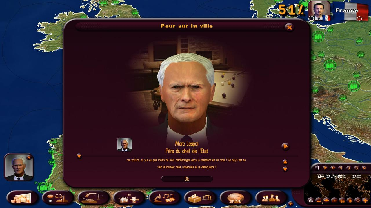 jeuxvideo.com Masters of the World : Geo Political Simulator 3 - PC