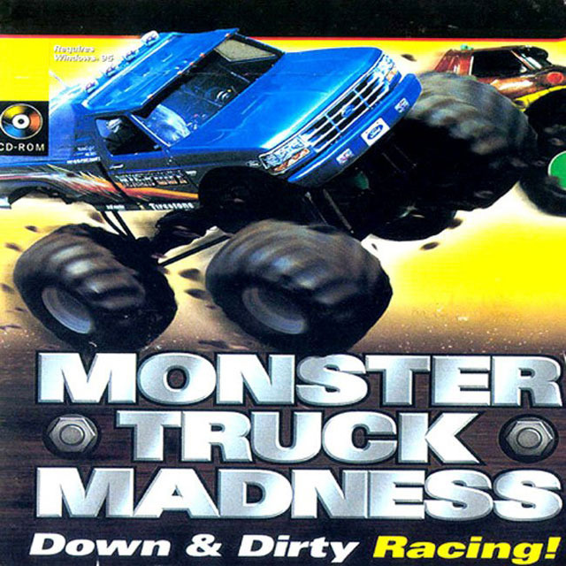 monster truck madness sur pc. Black Bedroom Furniture Sets. Home Design Ideas