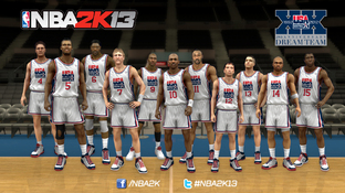 GC 2012 : NBA 2K13 présente sa Dream Team