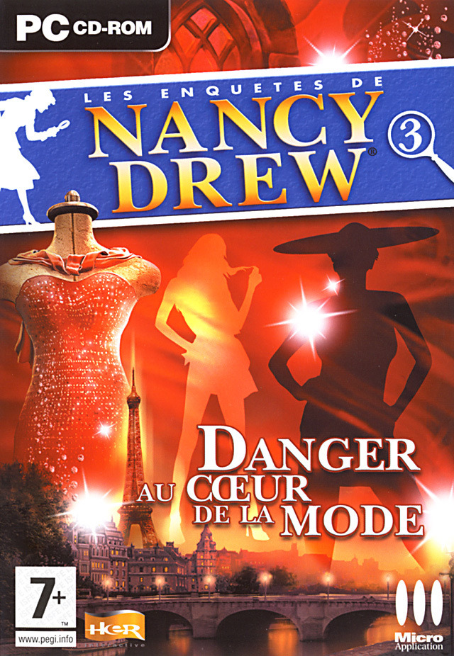 Les Enquêtes de Nancy Drew : Danger au Coeur de la Mode [PC] [FRENCH] [FS] [US]