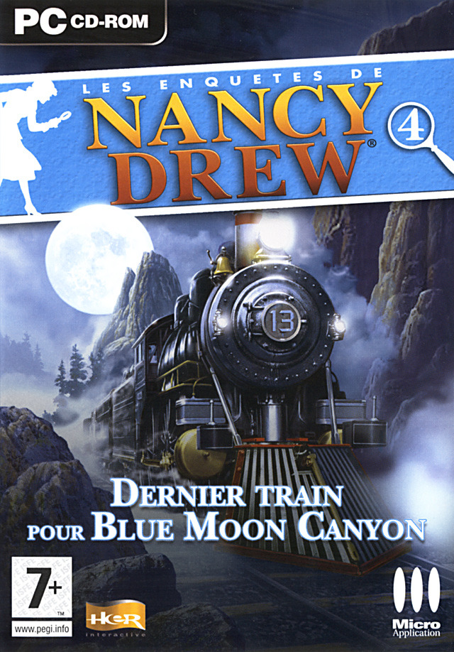 les enqu tes de nancy drew dernier train pour blue moon canyon sur pc. Black Bedroom Furniture Sets. Home Design Ideas