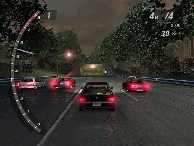 لعبة سباق السرعة underground