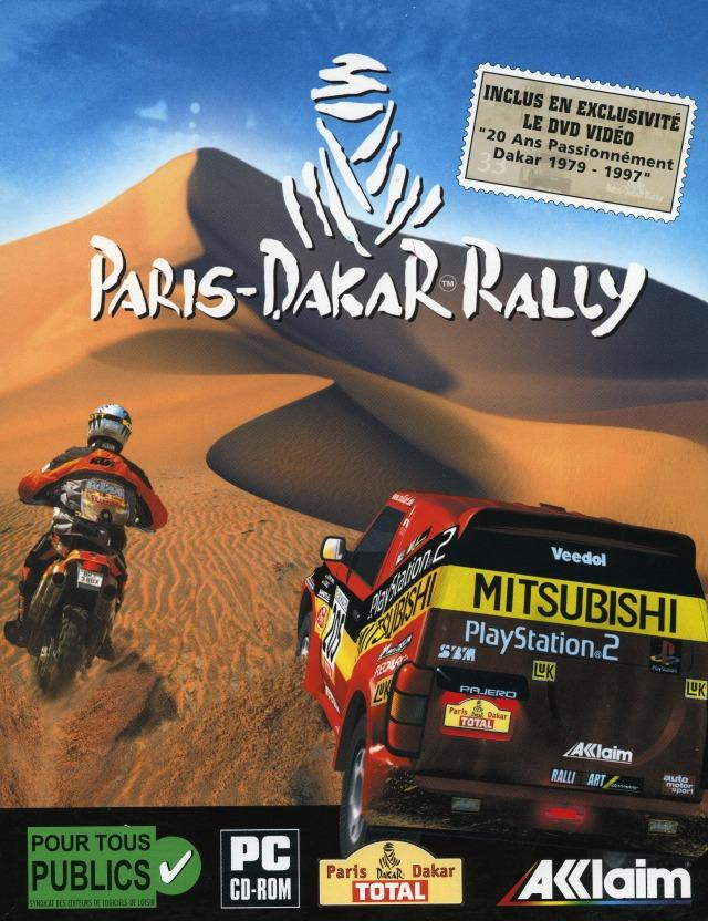 paris dakar rally sur pc. Black Bedroom Furniture Sets. Home Design Ideas