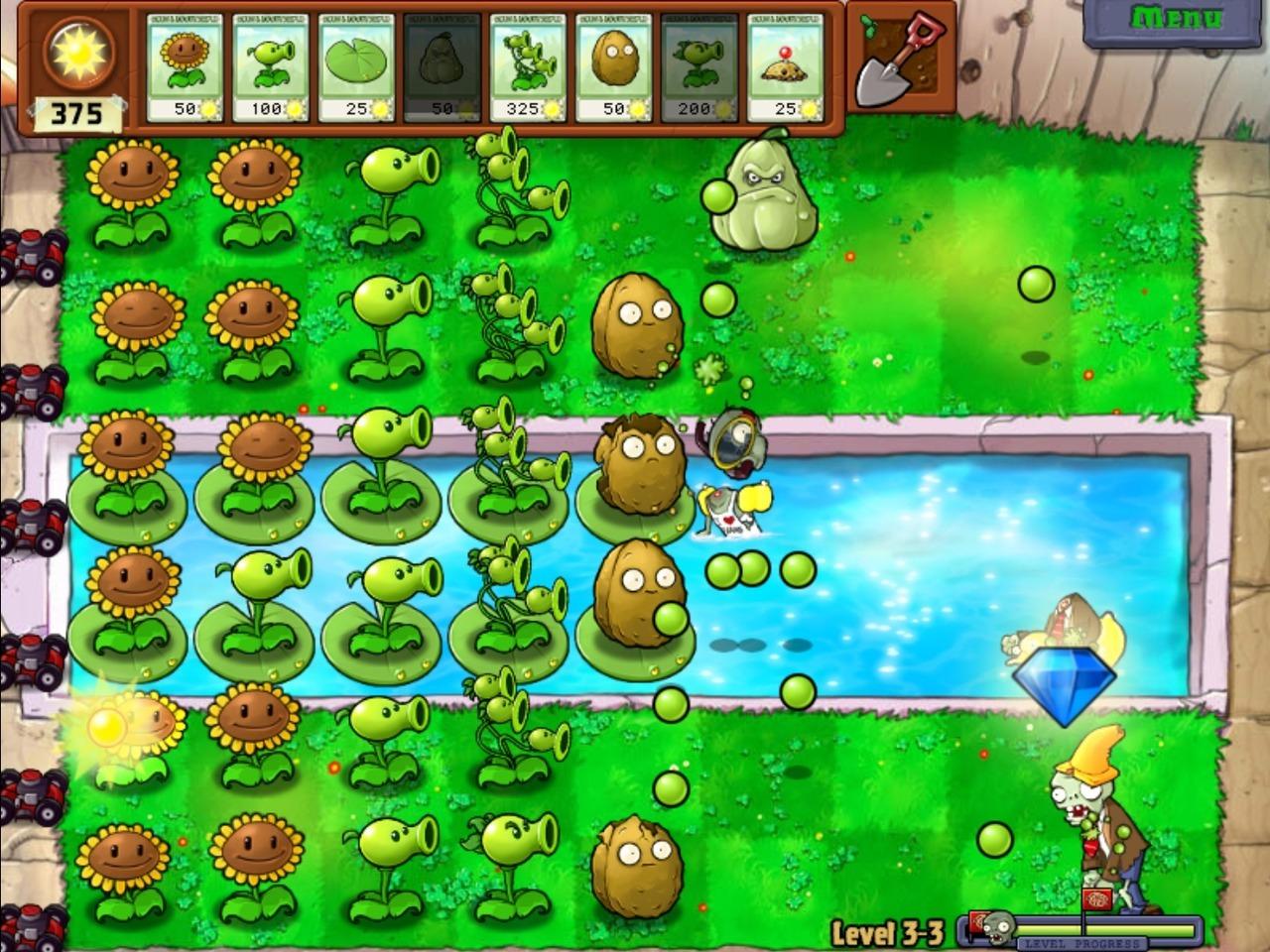 لعبة المغامرات الممتعة والمحبوبة Plants