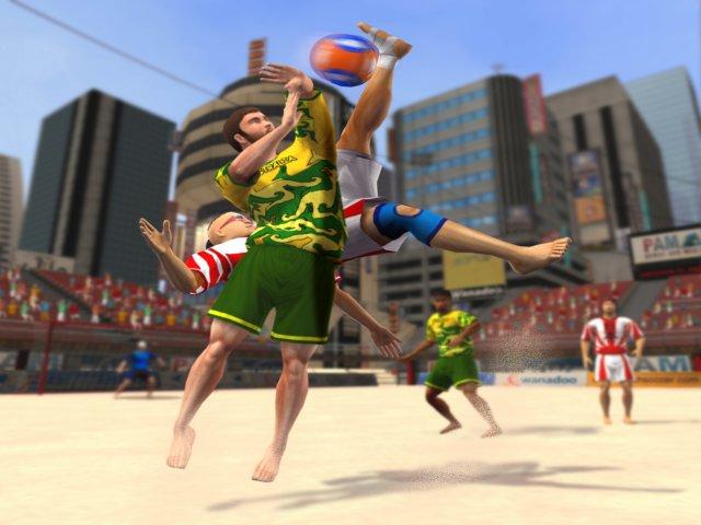 لعبة كرة القدم الشاطئية Pro Beach Soccer نارxنار