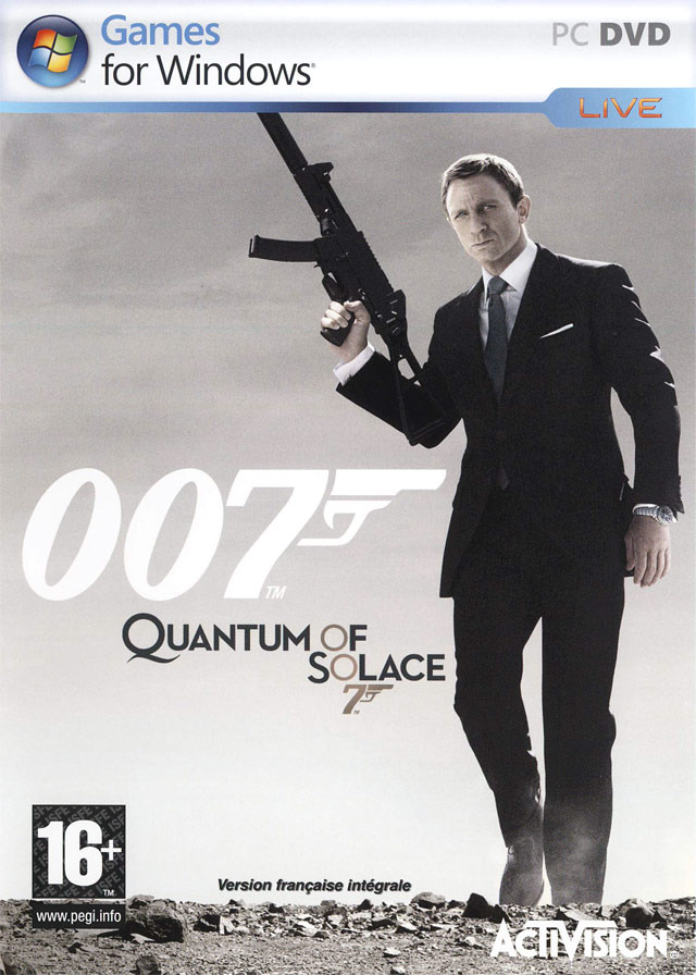 James Bond 007 Quantum of Solace RELOADED