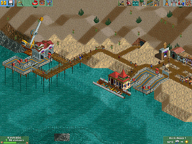 jeuxvideo.com Rollercoaster Tycoon 2 : Time Twister - PC Image 9 sur