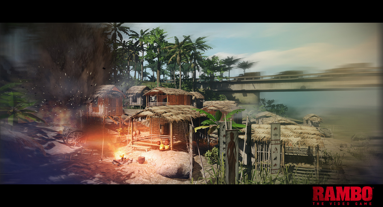 Download Rambo The Video Game-RELOADED