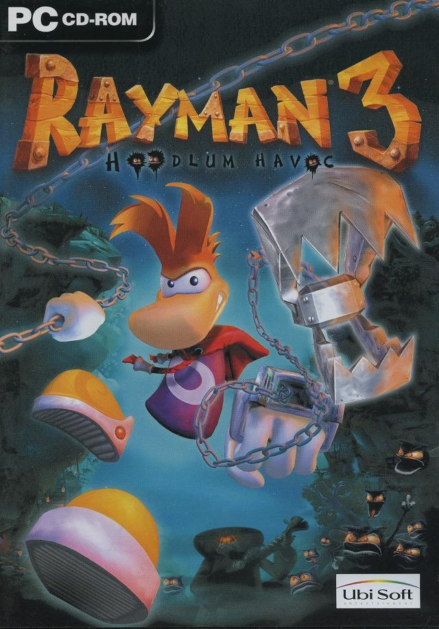 Jaquette Rayman 3